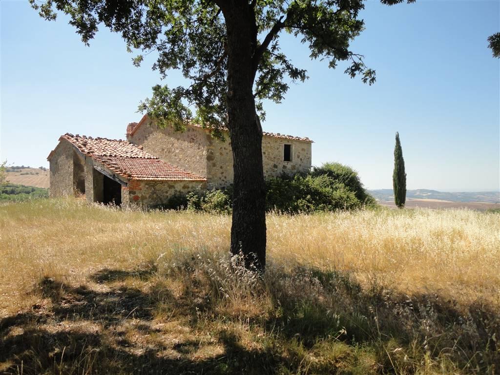 Casale da ristrutturare con vista su Val d Orcia. rustico casale vendita toscana  siena castiglione d orcia. 300 (mq) Vani  8 Locali  4 Bagni  3. Rif. C51 4d0bc990408