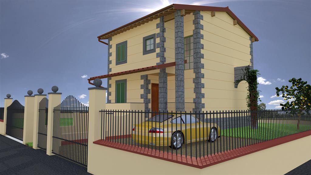 Villa in vendita a Collesalvetti, 7 locali, zona Zona: Nugola, prezzo € 390.000 | Cambio Casa.it