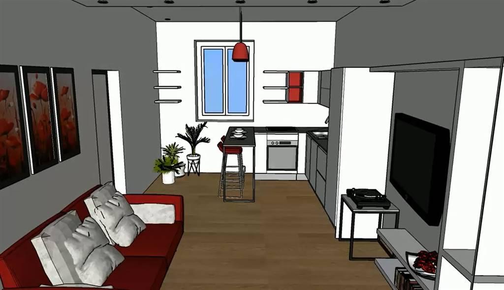 Appartamento in Vendita a Milano:  2 locali, 57 mq  - Foto 1