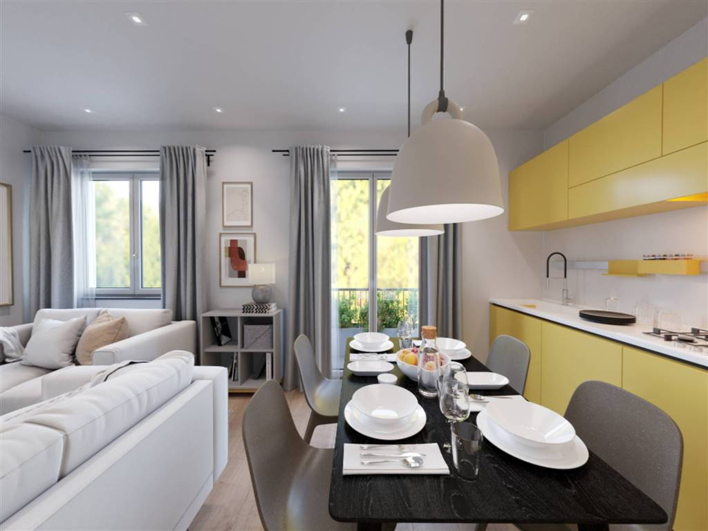 Appartamento in Vendita a Milano 18 Ippodromo / San Siro / Zavattari: 3 locali, 93 mq