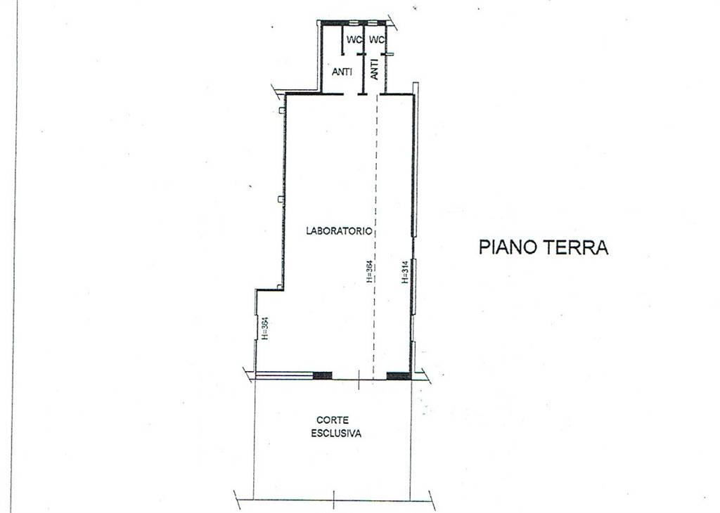 Laboratorio in affitto a Carpi, 9999 locali, zona Località: ALDO MORO, prezzo € 500   Cambio Casa.it