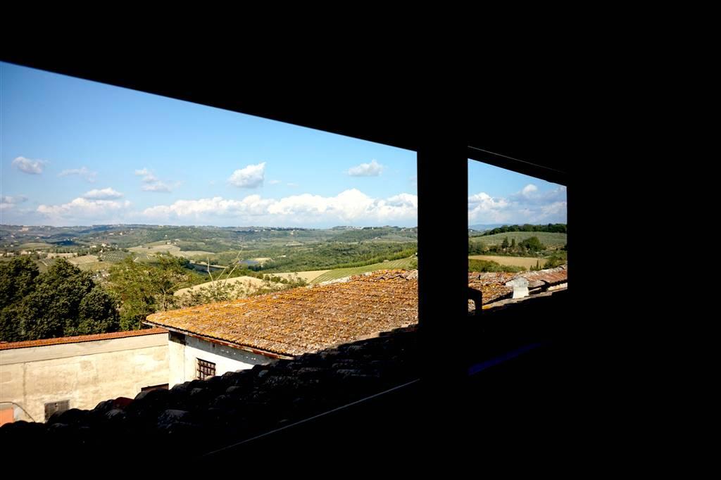il panorama dalla soffitta