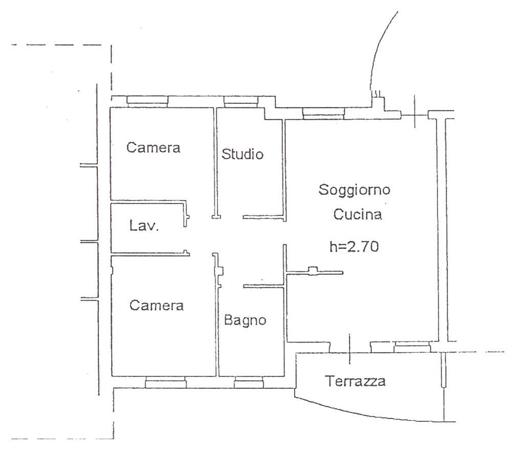 Appartamento in affitto a Nogarole Rocca, 5 locali, zona Località: PRADELLE, prezzo € 580 | Cambio Casa.it