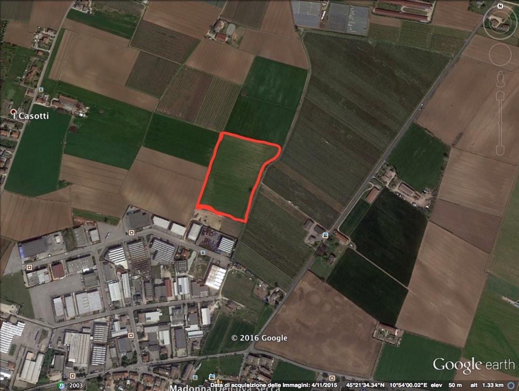 Terreno Agricolo in vendita a Povegliano Veronese, 9999 locali, zona Località: MADONNA DELLUVA SECCA, prezzo € 250.000 | Cambio Casa.it