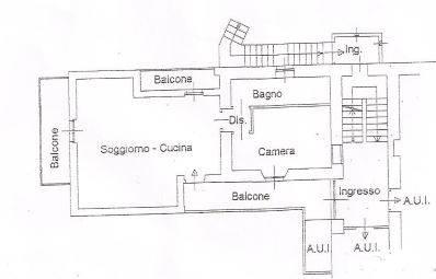 Soluzione Indipendente in affitto a Monte Marenzo, 2 locali, prezzo € 420 | CambioCasa.it