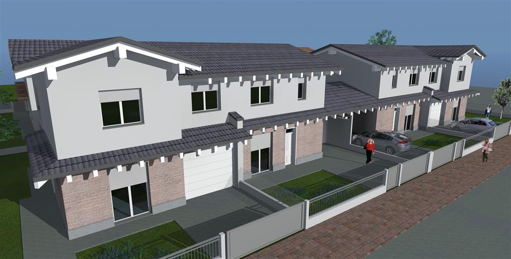 Nuova costruzione in vendita a suzzara mantova rif for Piani casa moderna
