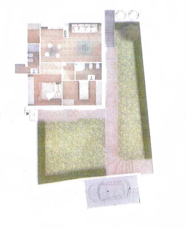Appartamento in affitto a Certaldo, 3 locali, zona Zona: Fiano, prezzo € 600 | CambioCasa.it