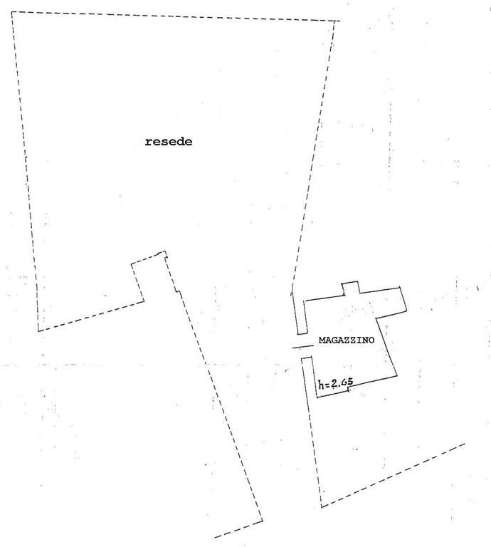 Magazzino in vendita a Certaldo, 1 locali, zona Località: CENTRO, prezzo € 25.000 | Cambio Casa.it