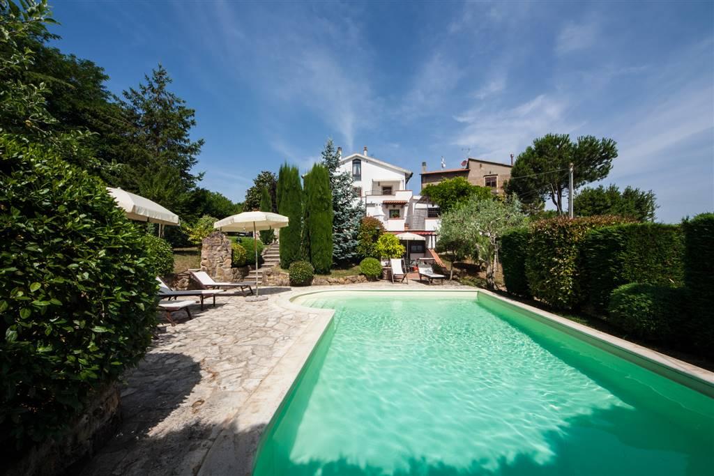 Villa in vendita a Montaione, 8 locali, prezzo € 495.000   CambioCasa.it