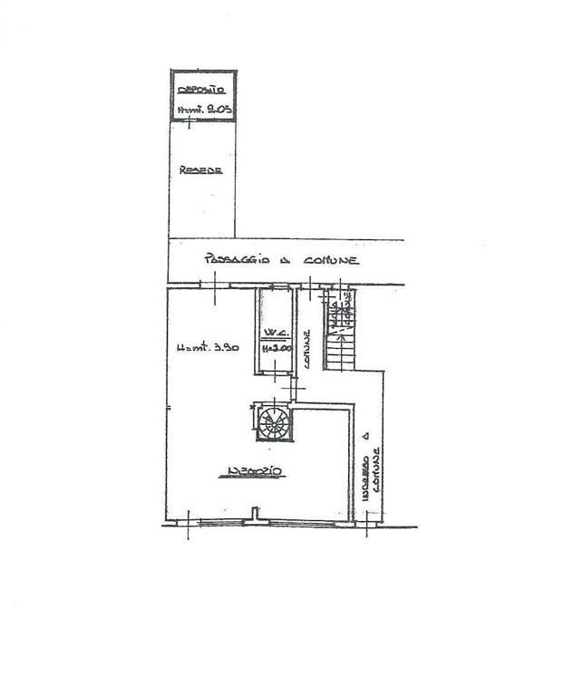 Negozio / Locale in affitto a Certaldo, 2 locali, zona Località: CENTRO, prezzo € 690 | CambioCasa.it