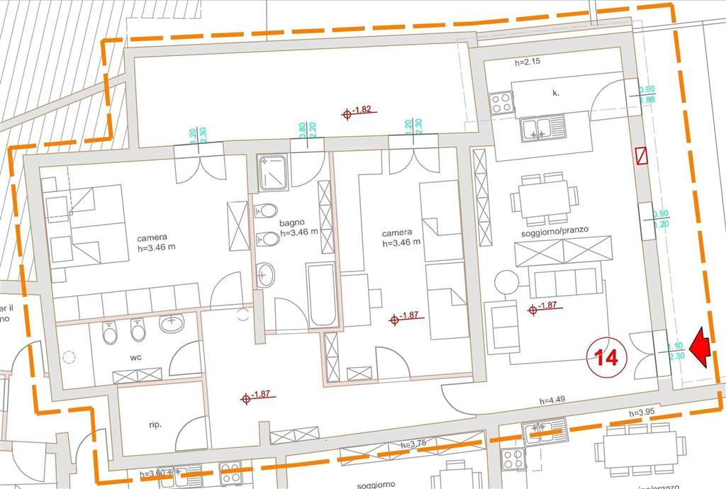 Soluzione Indipendente in vendita a Poggibonsi, 4 locali, prezzo € 325.000 | Cambio Casa.it