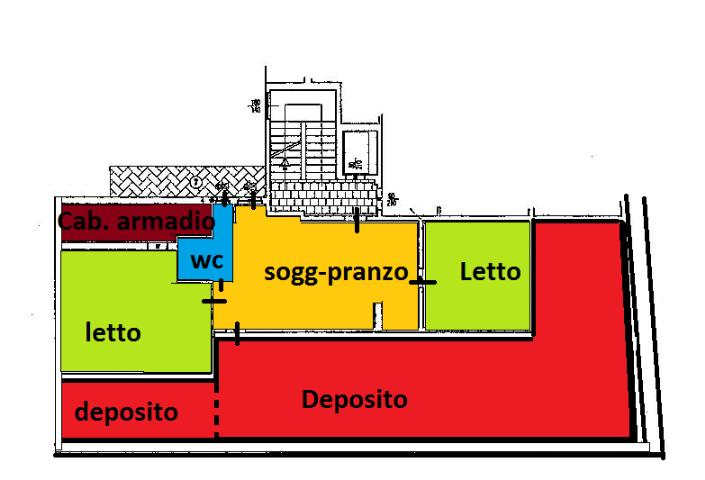 Attico / Mansarda in vendita a Altamura, 3 locali, prezzo € 120.000 | Cambio Casa.it