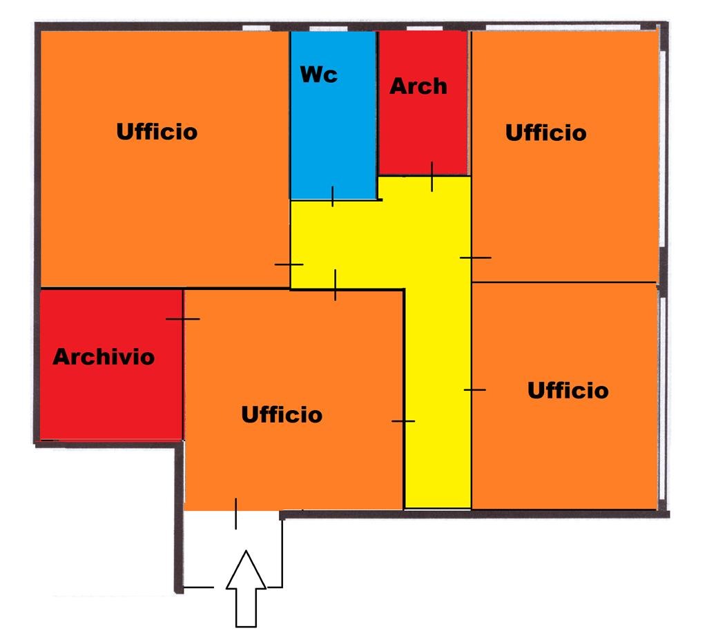 Ufficio / Studio in affitto a Altamura, 4 locali, prezzo € 300 | Cambio Casa.it