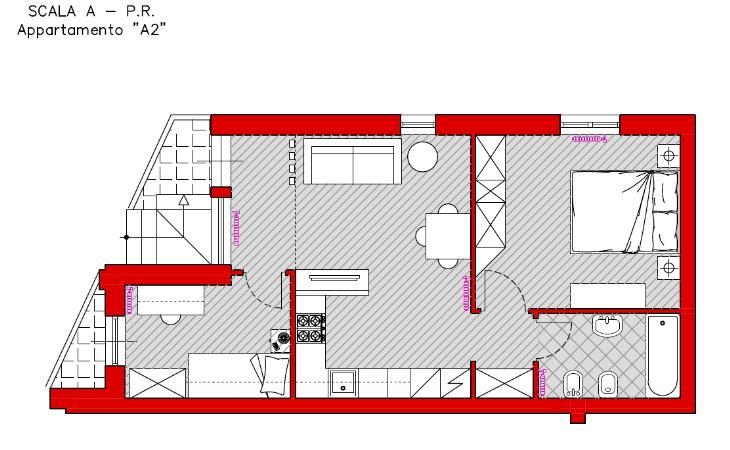 Appartamento in vendita a Turi, 3 locali, prezzo € 66.000   CambioCasa.it