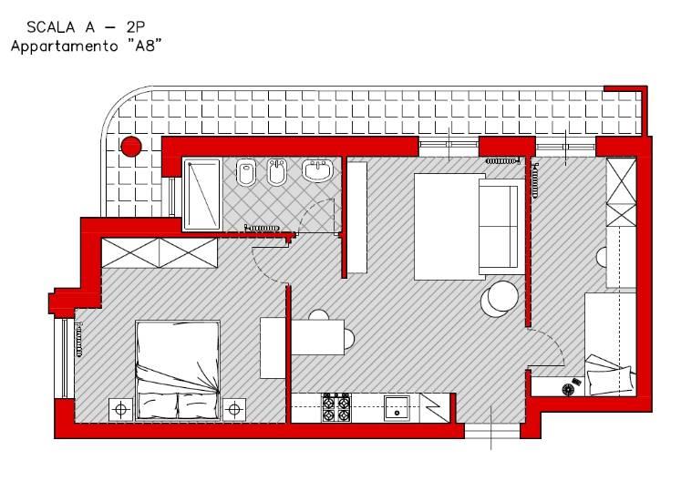 Appartamento in vendita a Turi, 3 locali, prezzo € 69.000 | Cambio Casa.it