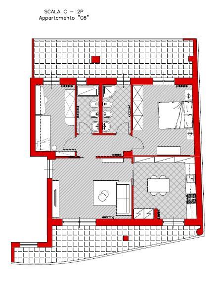 Appartamento in vendita a Turi, 3 locali, prezzo € 96.000   CambioCasa.it