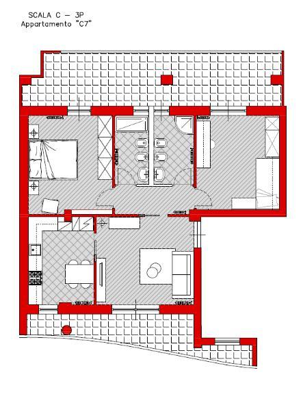 Appartamento in vendita a Turi, 3 locali, prezzo € 95.000 | Cambio Casa.it