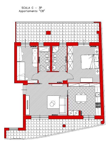 Appartamento in vendita a Turi, 3 locali, prezzo € 96.000 | Cambio Casa.it