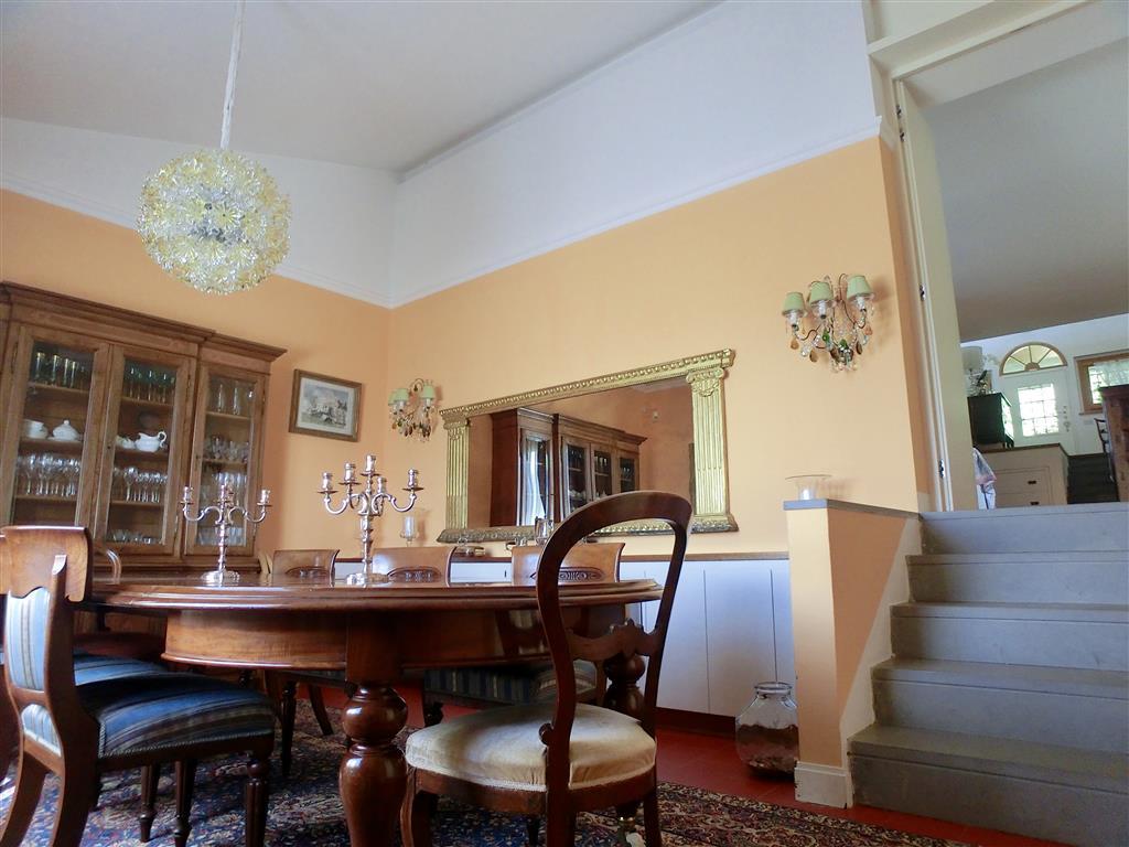 Dettaglio soggiorno / pranzo