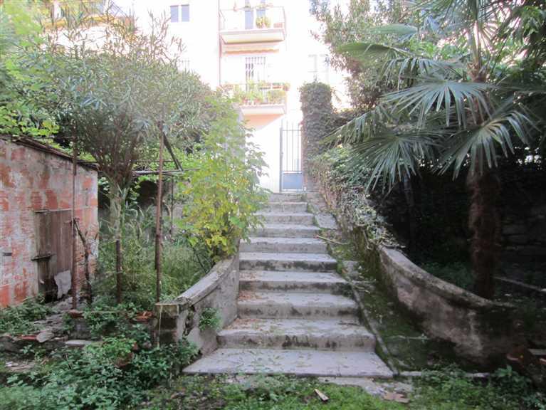 Scala d'ingresso alla Villa