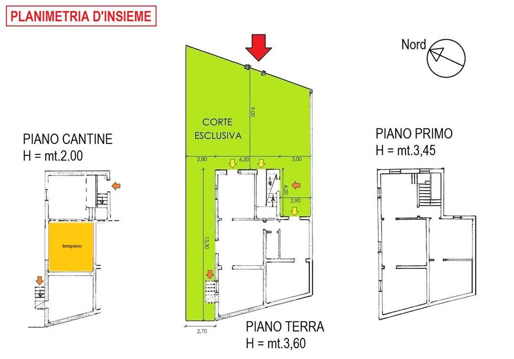 Planimetria Stato Attuale