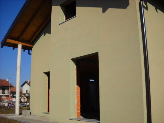 Villa, Nibbiola, in nuova costruzione