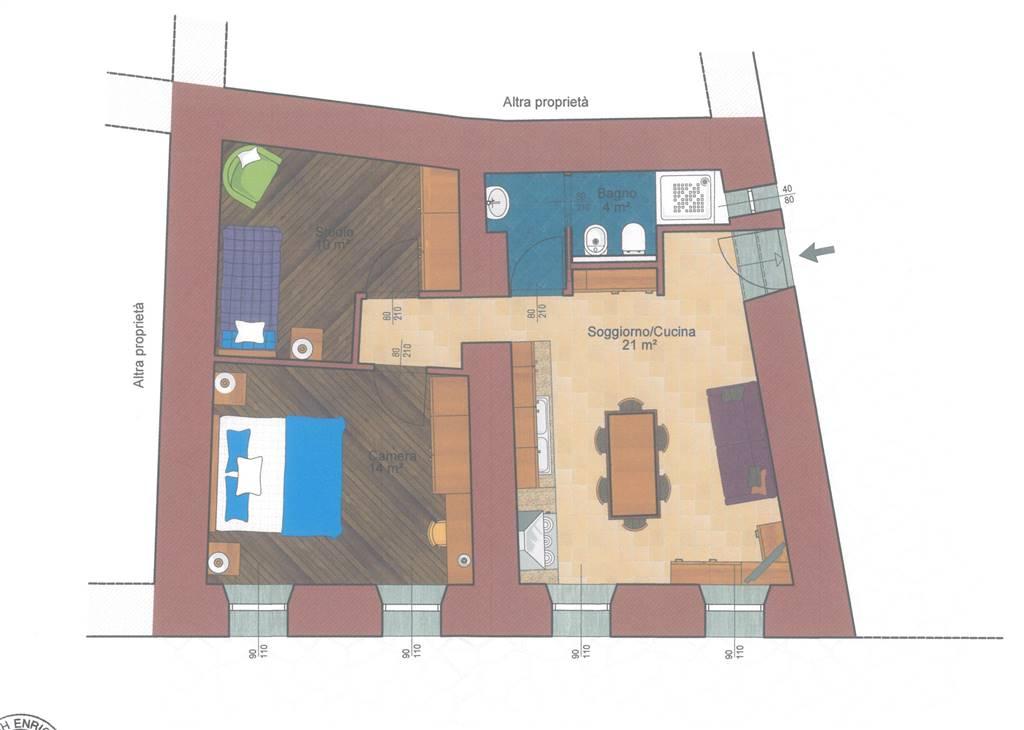 Soluzione Indipendente in vendita a Quart, 3 locali, zona Zona: Villefranche (capoluogo), prezzo € 79.000 | CambioCasa.it