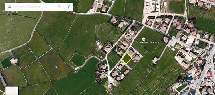 Terreno Edificabile Residenziale in vendita a Ragusa, 9999 locali, zona Zona: Bruscé, prezzo € 85.000 | Cambio Casa.it