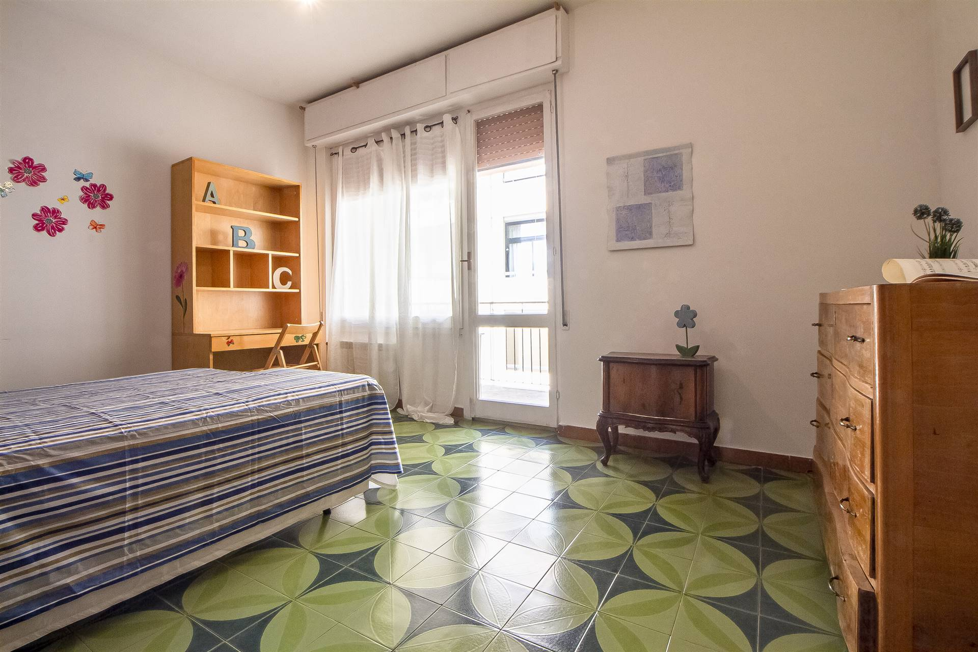 sala/camera  da letto