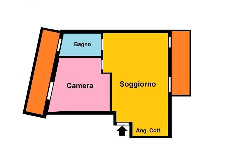 Appartamento in affitto a Fiano Romano, 3 locali, prezzo € 450 | CambioCasa.it