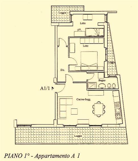 Appartamento in vendita a Ortona, 3 locali, prezzo € 225.000 | CambioCasa.it