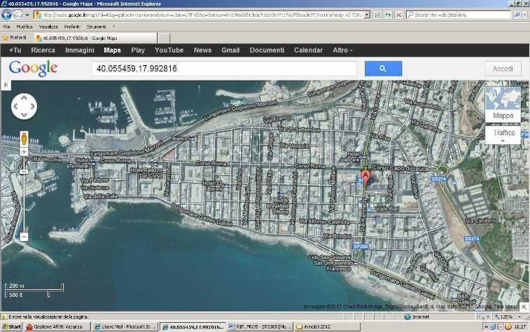 5 locali in affitto a Gallipoli