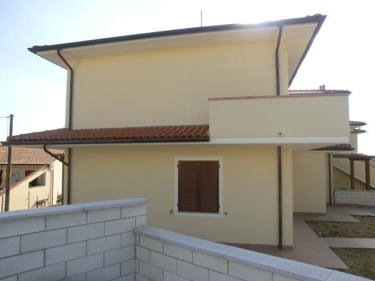 Villa a schiera, Soianella, Terricciola, in nuova costruzione