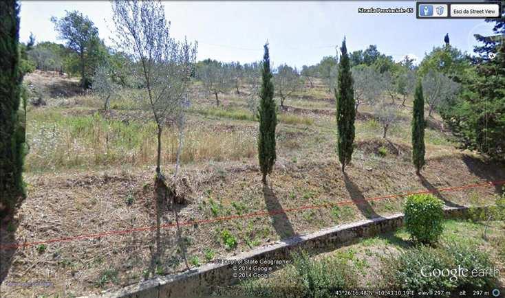 Terreno Edificabile Residenziale in vendita a Lajatico, 9999 locali, zona Zona: Orciatico, prezzo € 75.000 | CambioCasa.it