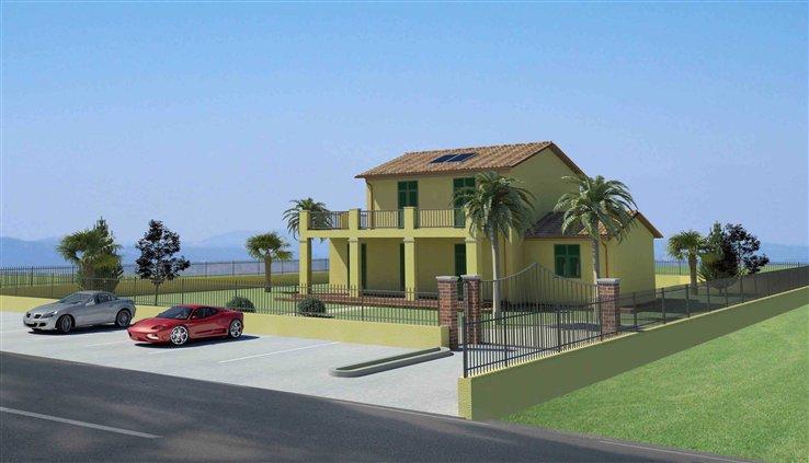 Villa in vendita a Ortonovo, 7 locali, zona Zona: Luni Scavi, prezzo € 445.000   Cambio Casa.it