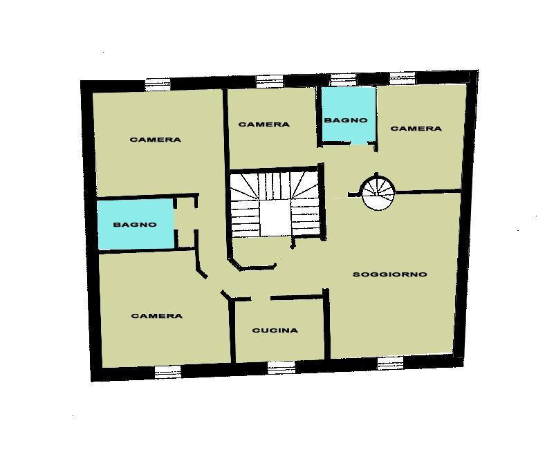 Appartamento in vendita a Conselice, 8 locali, prezzo € 126.000 | Cambio Casa.it