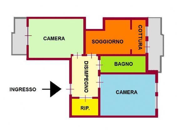 Appartamento in vendita a Vallecrosia, 4 locali, prezzo € 310.000 | Cambio Casa.it