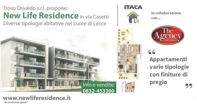 """A due passi dal centro storico , a ridosso di porta San Biagio, nasce """"New life residence"""". Appartamenti di nuova costruzione, varie tipologie con"""