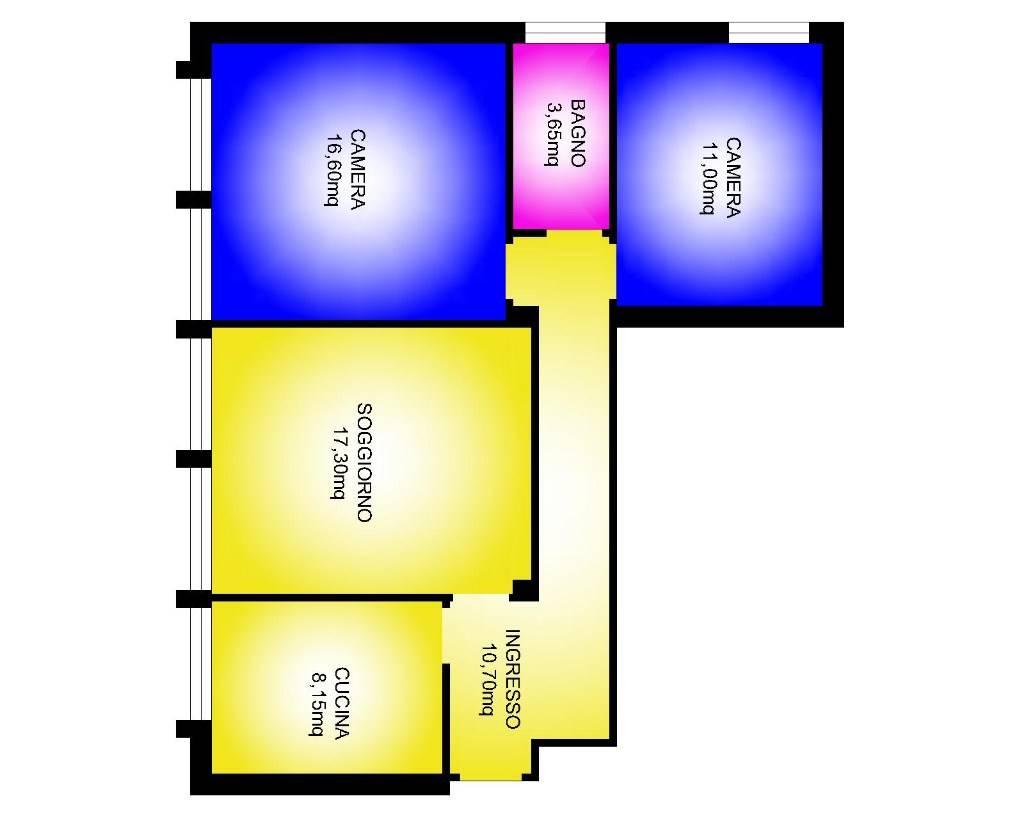 Appartamento in affitto a Padova, 4 locali, zona Zona: 5 . Sud-Ovest (Armistizio-Savonarola), prezzo € 470 | Cambio Casa.it