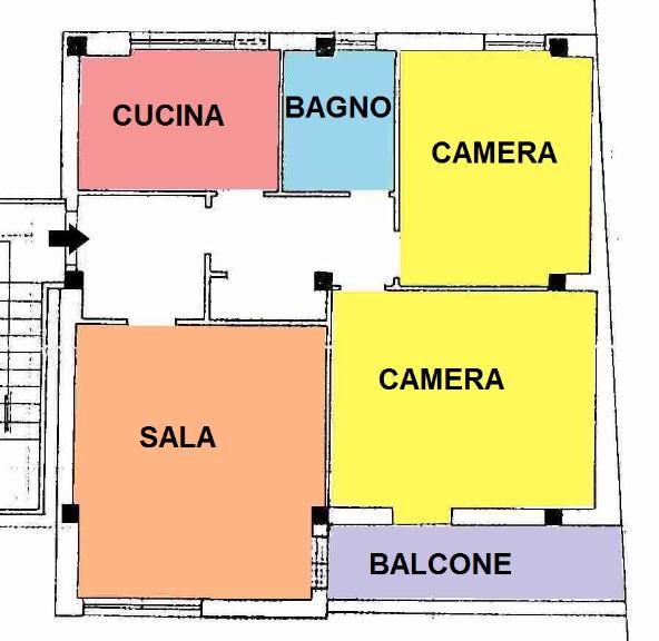 Appartamento in vendita a Latina, 2 locali, zona Zona: Latina Scalo, prezzo € 130.000 | CambioCasa.it