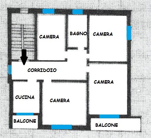 Appartamento in Via Degli Scarlatti, Musicisti, Modena