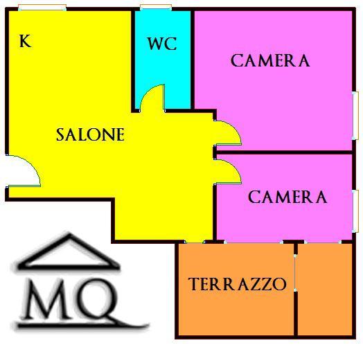 Attico / Mansarda in vendita a Isernia, 3 locali, zona Zona: Semicentro, prezzo € 130.000 | CambioCasa.it