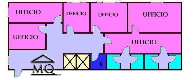Ufficio / Studio in affitto a Isernia, 6 locali, zona Zona: Centro, prezzo € 1.300 | Cambio Casa.it