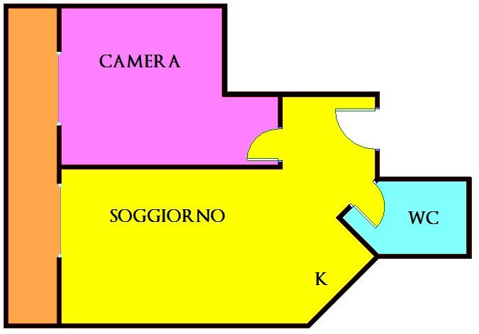 Appartamento in affitto a Isernia, 2 locali, zona Zona: Centro, prezzo € 350 | Cambio Casa.it