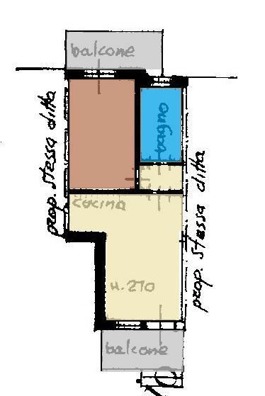 Casa Indipendente vendita FANO (PU) - 2 LOCALI - 45 MQ