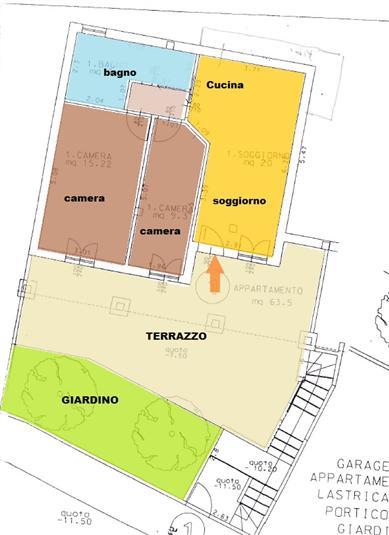 Appartamento vendita MOMBAROCCIO (PU) - 4 LOCALI - 65 MQ