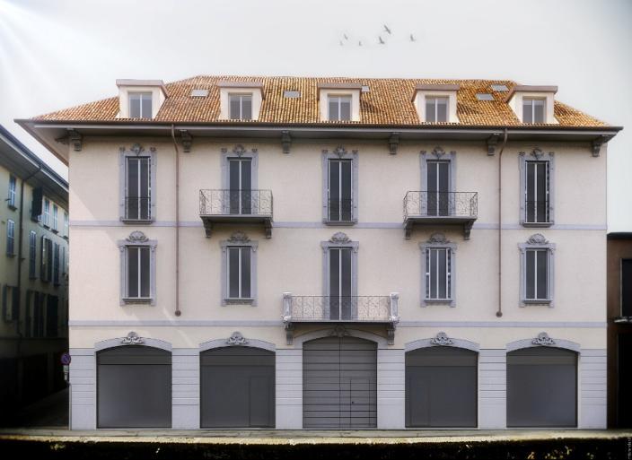 Negozio locale in vendita a monza via aliprandi 3 for Negozio con planimetrie abitative