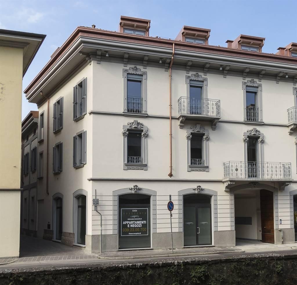 Affitto negozio via aliprandi 3 centro storico san for Negozio con planimetrie abitative