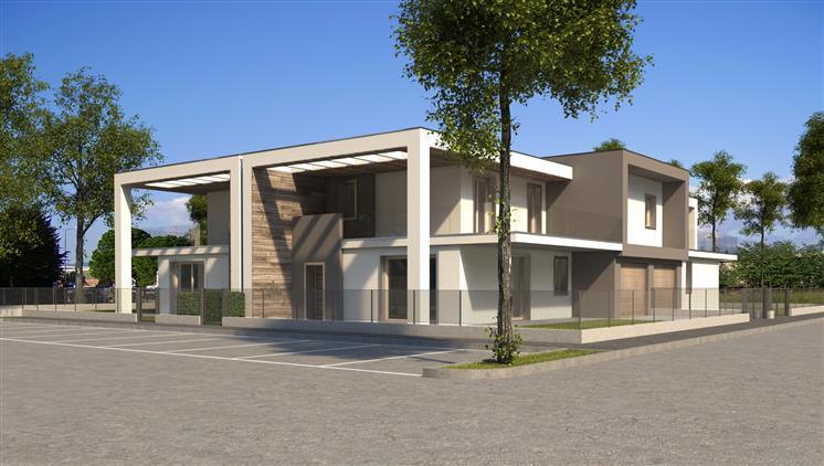 Villa, Osio Sotto, in nuova costruzione