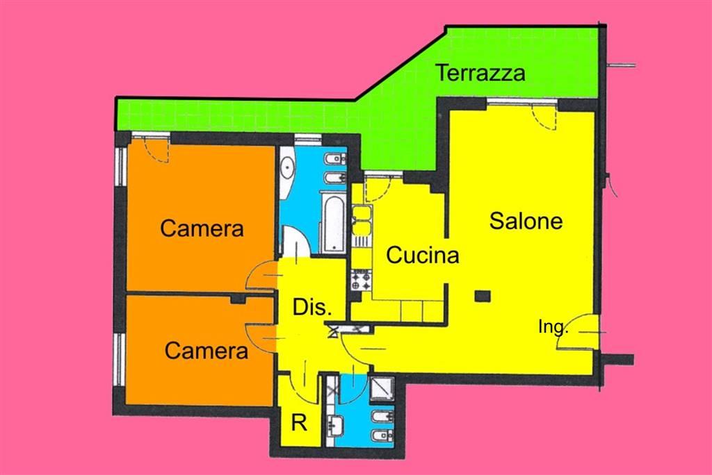 Appartamento in Affitto a Livorno: 3 locali, 90 mq